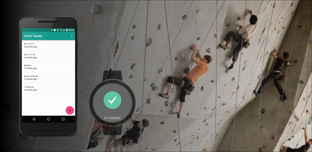 Climb Tracker for Android and Android wear